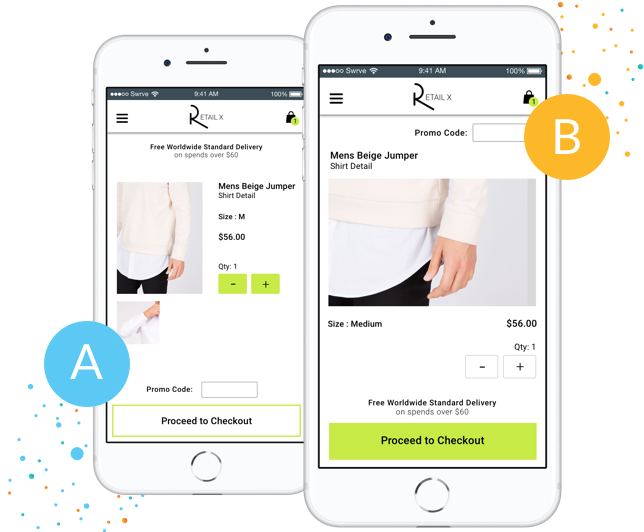 Designed for selling on mobile