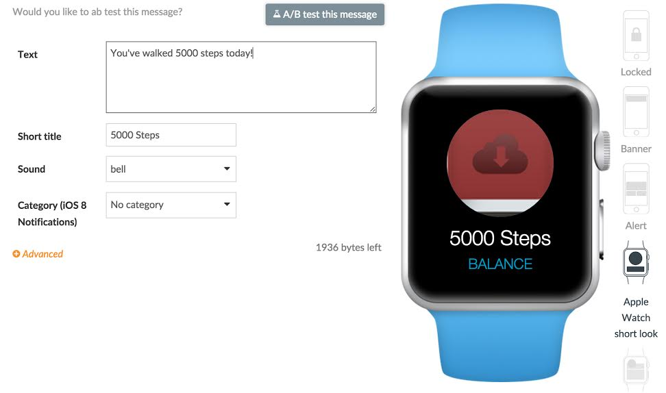 Introducing Apple Watch Support On Swrve
