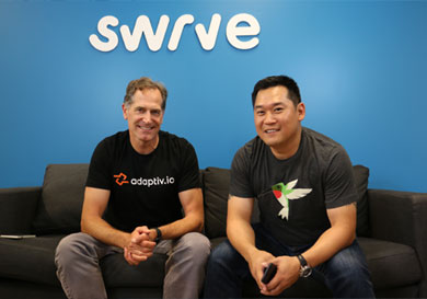 Swrve Completes $30 Million Financing Round and Acquisition of adaptiv.io