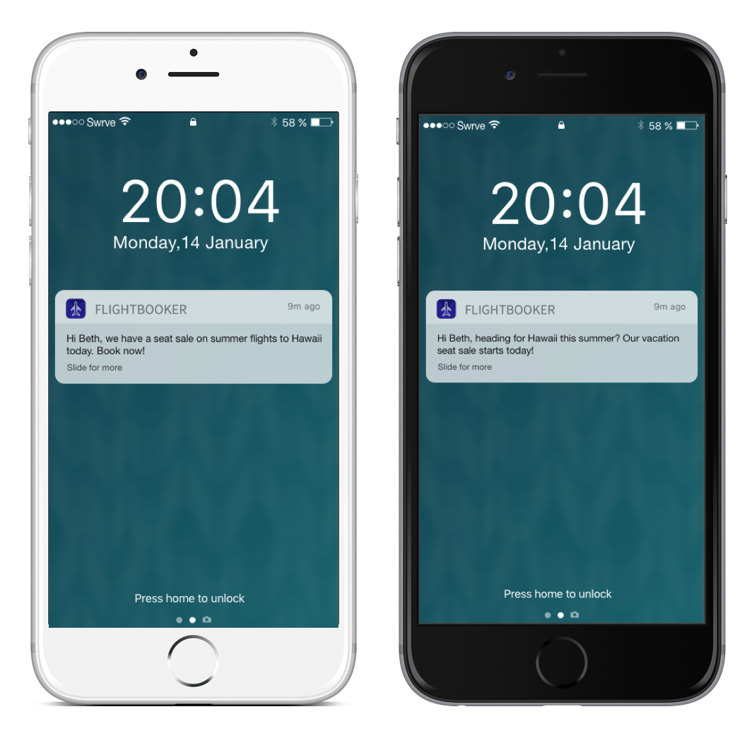 Push notifications to bring users back to travel apps - A/B tested