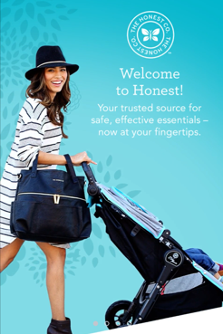 Screenshot Honest Company app