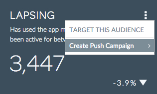 Create In-app Campaign