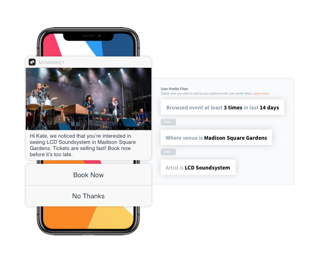 Real-time Triggering and Flexible Audience Building