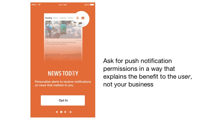 Push Notification Opt-In Campaign