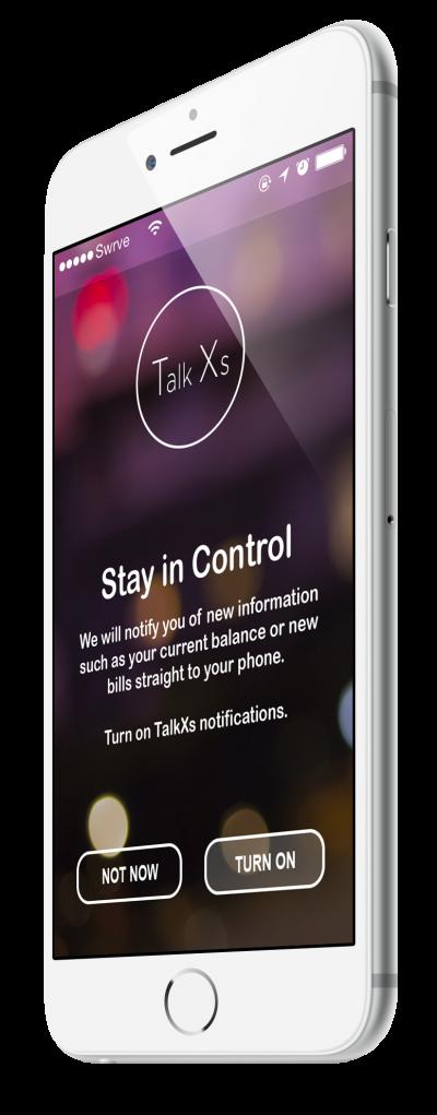 TalkX In-App