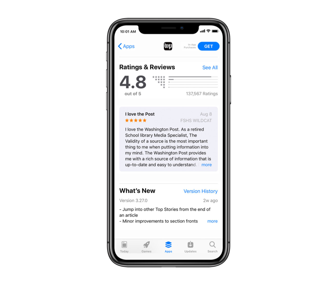 The Importance of App Store Ratings