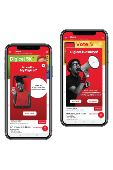 Digicel Triples Mobile Engagement and Increases Retention by 50%