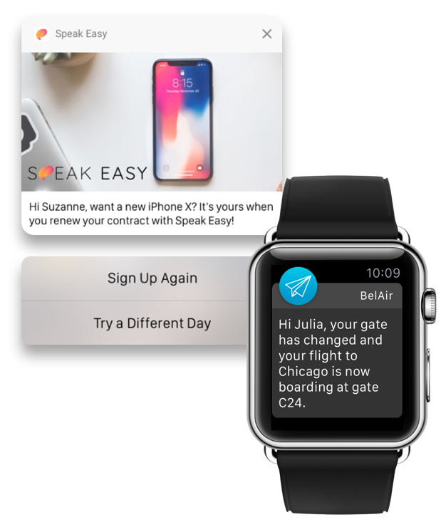 Push Notifications - Apple Watch