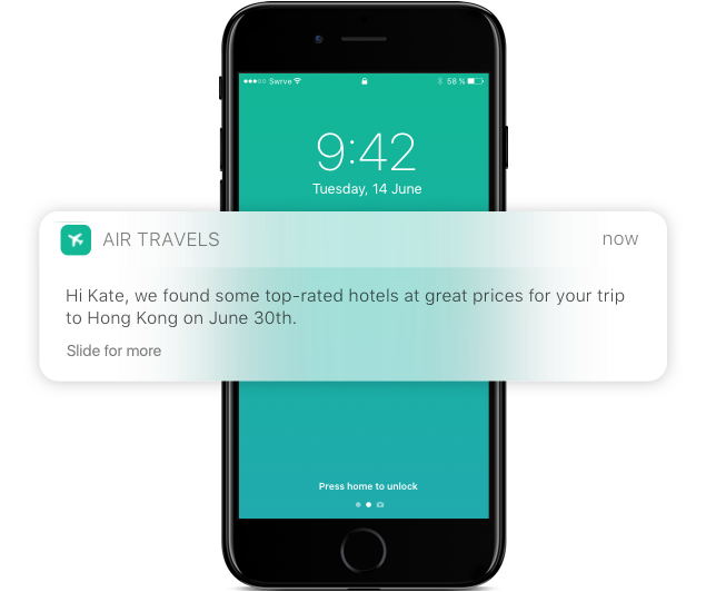 Message The Right Customers Outside The App About Your New Feature