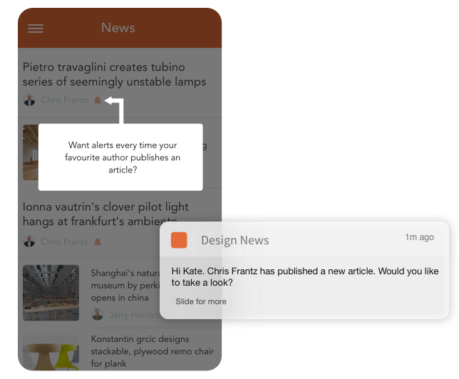 Tell users about features they haven't used to improve engagement & retention.
