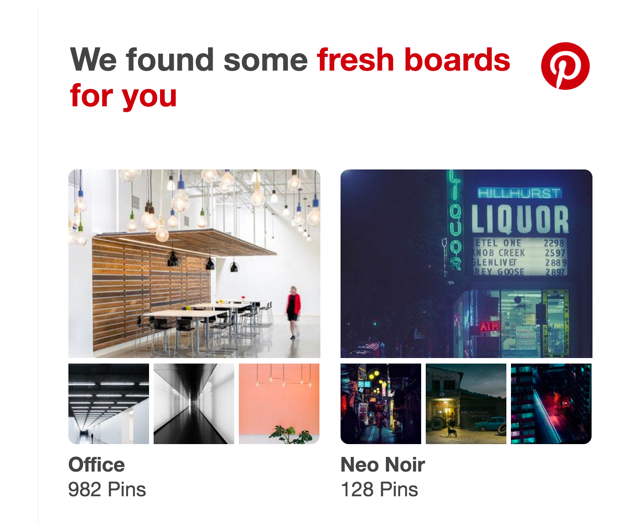 Pinterest multichannel approach