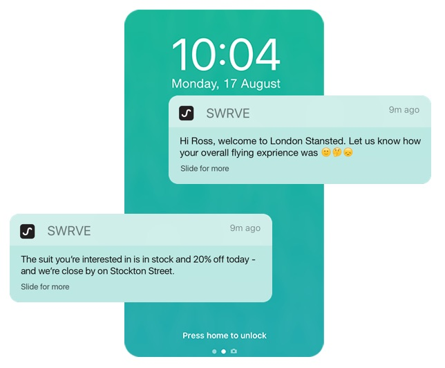 Push notifications without limits