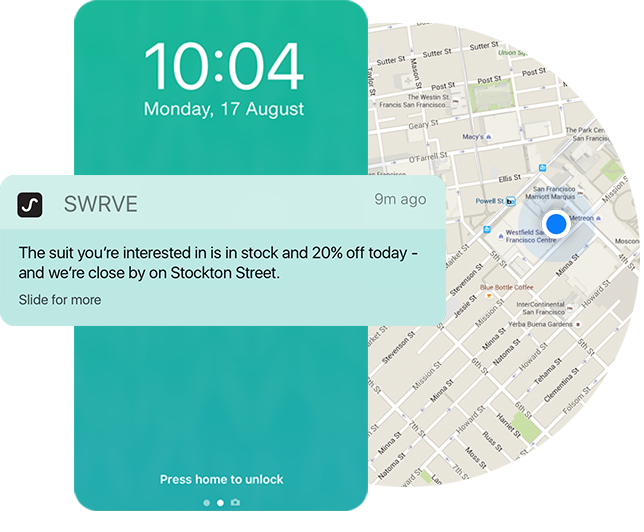 Targeted push notifications are more effective