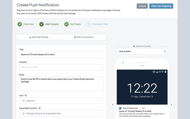 See The Swrve Intention Engine In Action